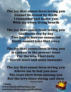 The joy that comes from loving you - A Poem | The Grief ...