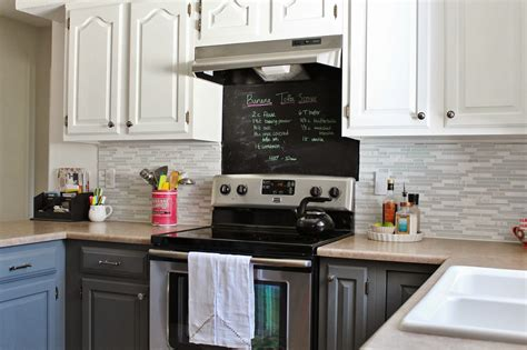gray kitchen white cabinets remodelaholic grey and white kitchen makeover