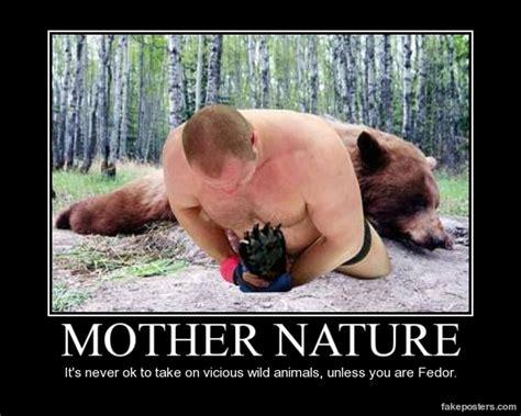 Fedor Emelianenko Meme - quotes about man vs nature quotesgram