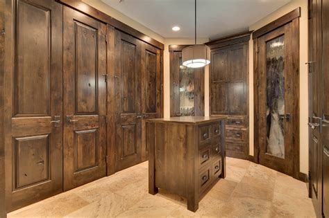 carus closet rustic closet portland by prograss