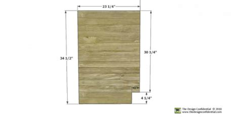 woodworking plans  build  easiest pantry cabinet