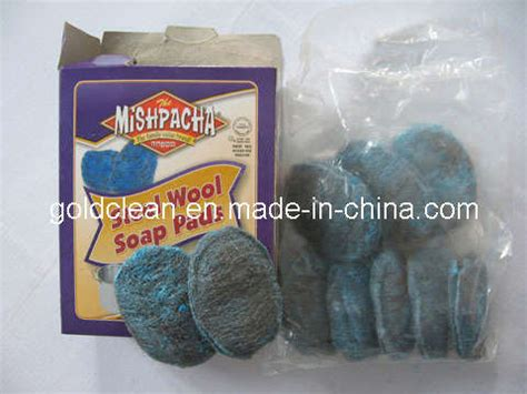wool light detergent china steel wool soap pad gc sw004 china steel wool