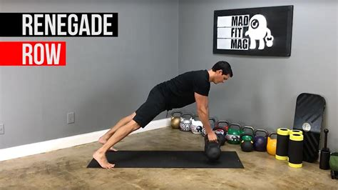 renegade kettlebell row mad