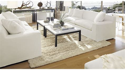 crate and barrel parsons table parsons square dark steel coffee table with travertine top