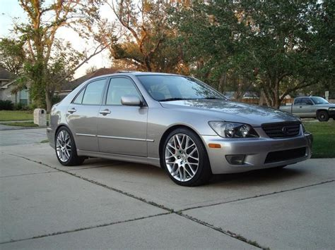 is300 with g spider wheels lexus is300 toyota altezza