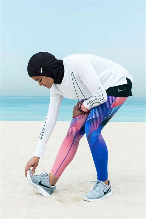nike pro hijab collection vogue arabia