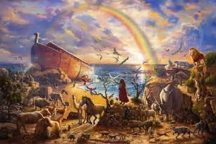 Frames For Artwork On Canvas by Noah S Ark Limited Edition Art Parsons Thomas Kinkade