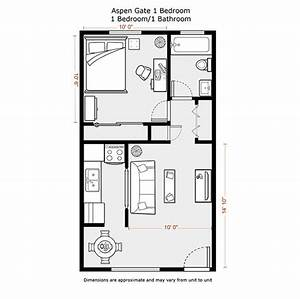1 Bedroom Apartment Floor Plans 500 Sf