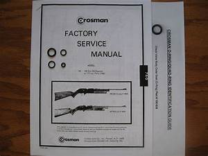 Crosman 760 Rifle  Pre 1977  Seal Repair Kit