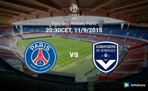 Psg Vs Bordeaux  Match Preview, Team News, Head To Head