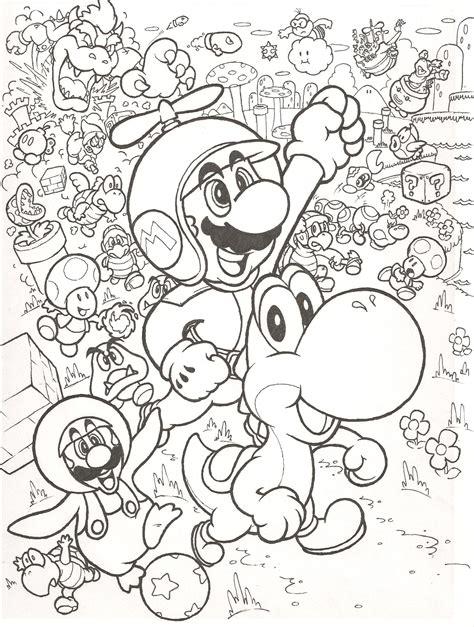 Mario Smash Bros Mario Coloring Pages Coloring Pages