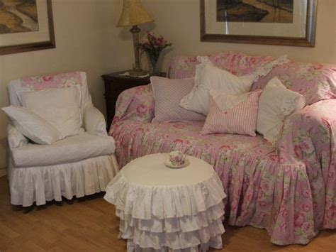 shabby chic slipcovers for sofas 102 best images about shabby chic sofa slipcovers on pinterest chair slipcovers ottoman