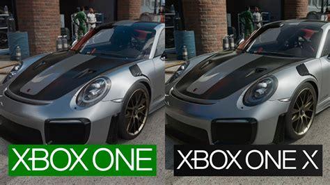 Forza 7 Xbox One Vs Xbox One X 1080p Graphics