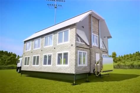 Amazing Truck Turns Into Fullsize House  Daily Star