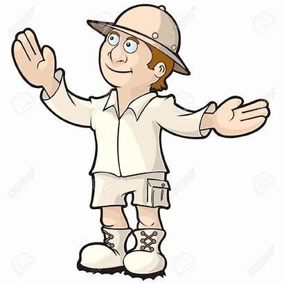 Tour Guide Clipart Explorer Uniform Guides Teacher