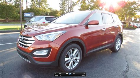 Hyundai Santa Fe Turbo by 2013 Hyundai Santa Fe Sport 2 0l Turbo Start Up Exhaust