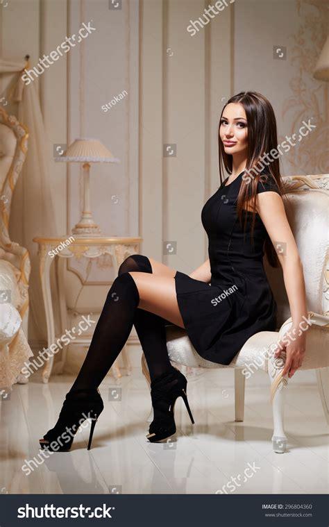 sexy brunette female