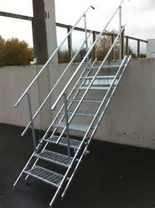 Escalier De Chantier Pliable by Escalier Modulaire D Acc 233 S Provisoire Eco