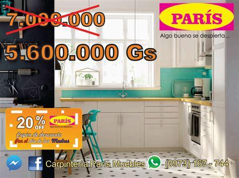 muebles de cocina paris deco paraguay