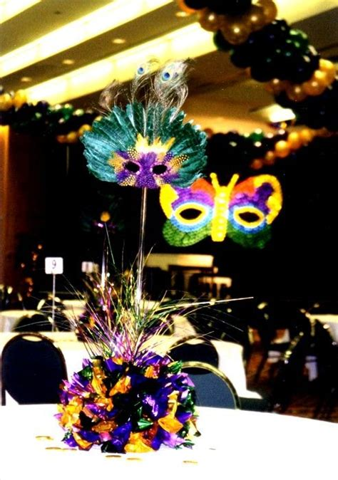 mask table decorations mardi gras table centerpieces ideas mardi gras mask