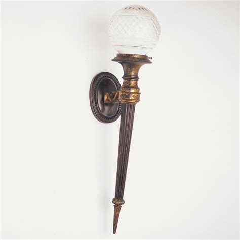 torch sconce torch wall light design modern style