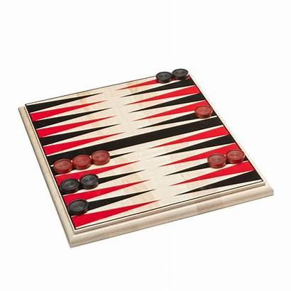 Checkers Chess Backgammon Board Wood Usa Inch