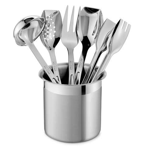 clad cook serve tool set  piece cutlery