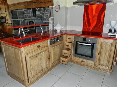 cuisine plan travail bois cuisine plan de travail bois