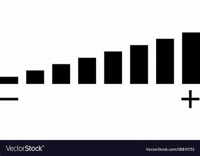 Volume Icon Vector Sign Flat Sound Background