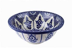 Bemalte Keramik Waschbecken : reza arabische keramik waschbecken ~ Markanthonyermac.com Haus und Dekorationen