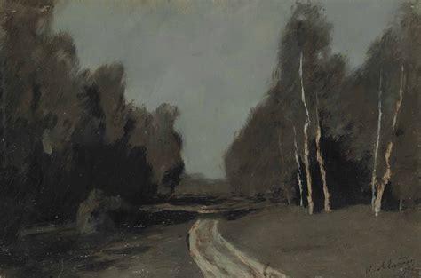 Isaak Levitan (1860-1900) , Moonlit path   Christie's