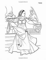 Coloring Belly Dancers Adults Books sketch template