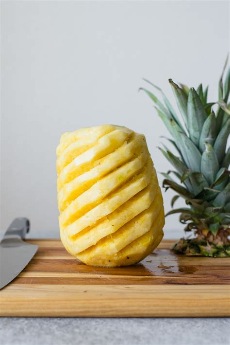 How To Cut A Pineapple  Healthy Nibbles
