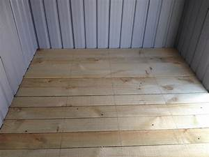 Garden shed foundations what is the best floor option for Best flooring for shed