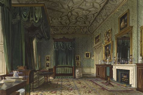 When did buckingham palace become a palace? James Roberts (c. 1800-67) - Buckingham Palace: the Queens Bedroom