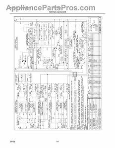 Parts For Frigidaire Plef489ccf  Wiring Diagram Parts