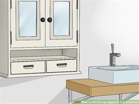 Ways To Add Storage Space To Your Bathroom-wikihow