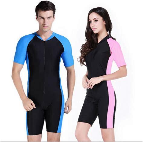 one kulit wetsuit pria baju renang pakaian renang ruam penjaga pakaian