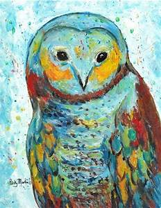 Owl Abstract - by Ulrike 'Ricky' Martin from Abstract ...