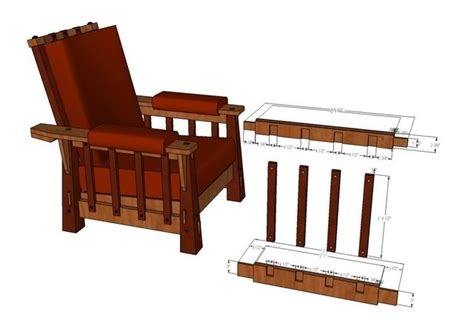 morris chair plans woodworking projects plans