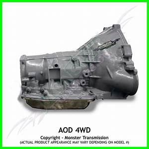 Aod Transmission Remanufactured Performance Heavy Duty 4x4