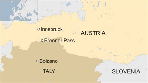 italy austria tension  border troops  brenner pass