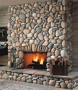 Amiable, Stone, Veneer, Decorative, Fireplace, Design, In, Modern, Air