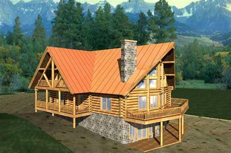 Log Home Plans Home Design Ghd