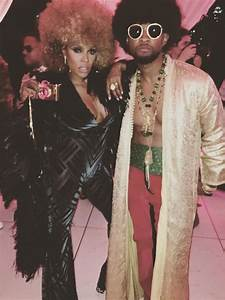 June Ambrose and Usher at Beyoncé's Soul Train Themed 35th ...