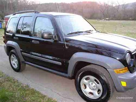 black jeep liberty with black rims sell used 2005 jeep liberty sport sport utility 4 door 3