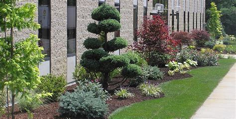 industrial landscaping ideas maintenance frontier landscaping