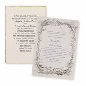 types of wedding invitations invitations by dawn With discount thermography wedding invitations