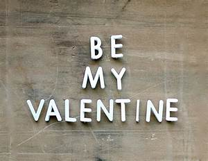 be my valentine vintage push pin letters sign by becaruns With push pin letters