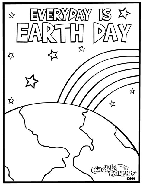 earth coloring pages    print